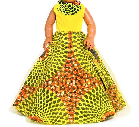 Sibahle Clothing - Nobhule ethnic long dress