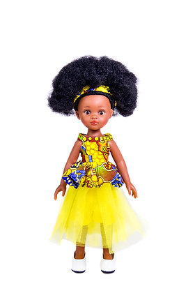 Sibahle - Bontle Doll Full Kit (yellow)