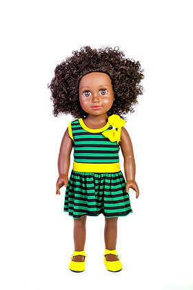 Zuree Talking Dolls - Jamaican