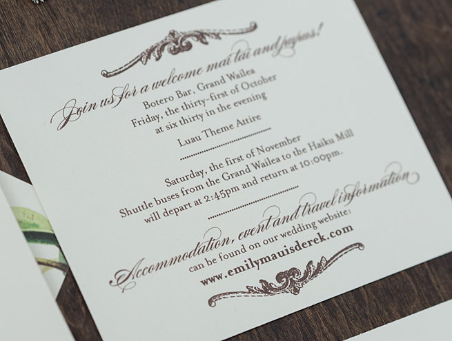 When To Mail Wedding Invitations Emily Post: Jen Simpson Design Custom Stationery