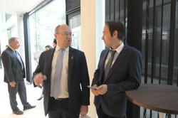 Patrick Kumpitsch and Bruno Rotschaedl