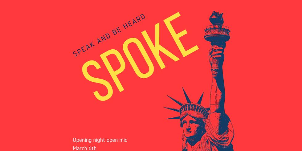 Spoke Open Mic - Launch Night