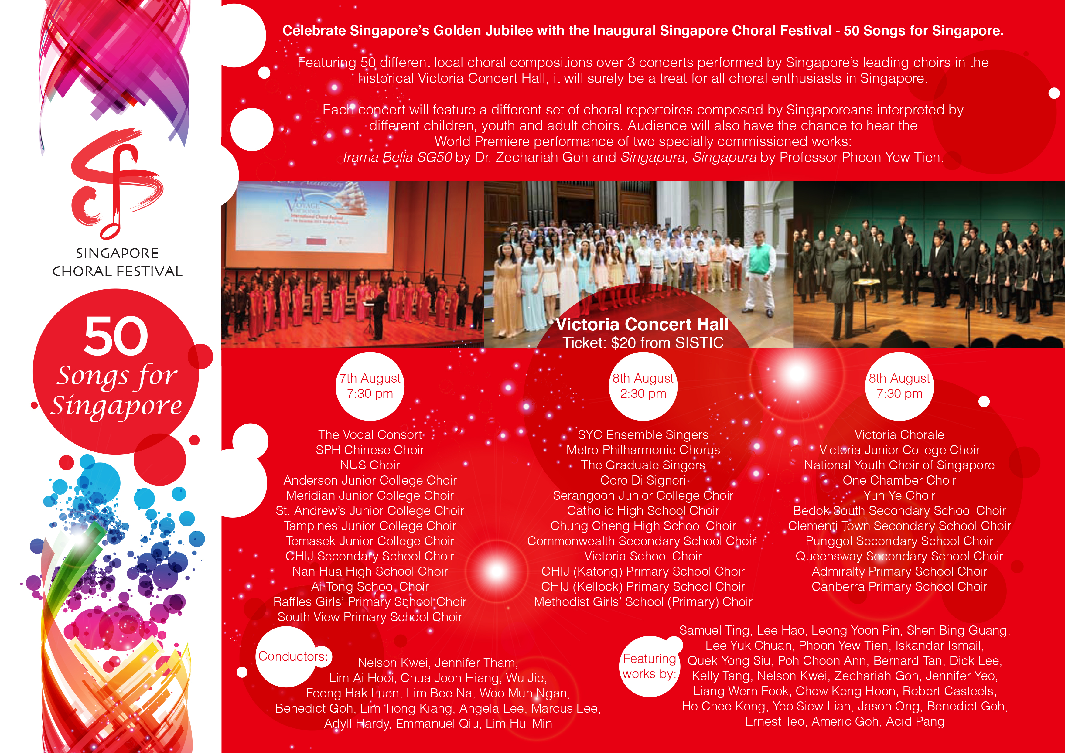 Singapore Choral Festival Info | International Choral