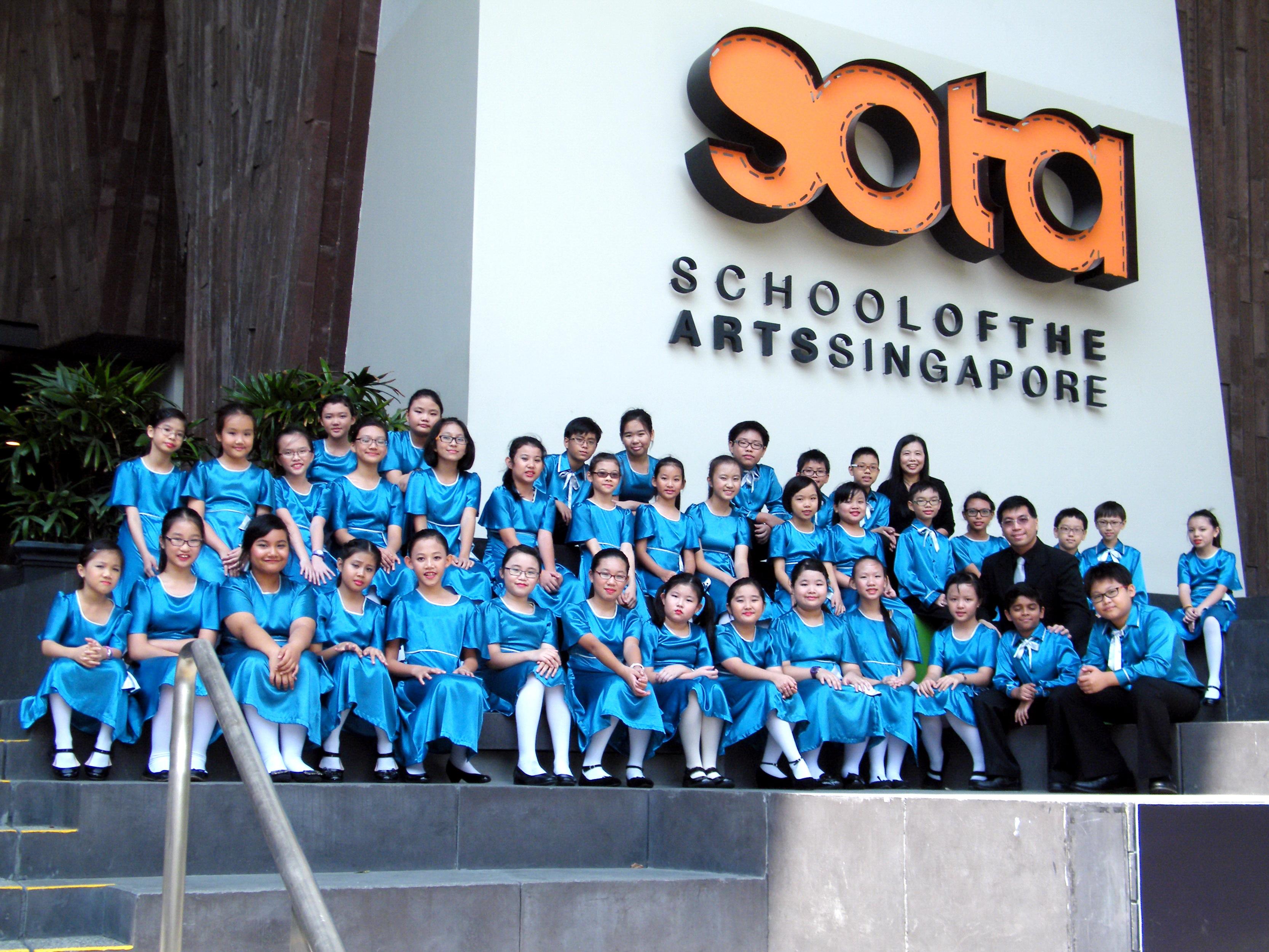 Admiralty Primary School Choir