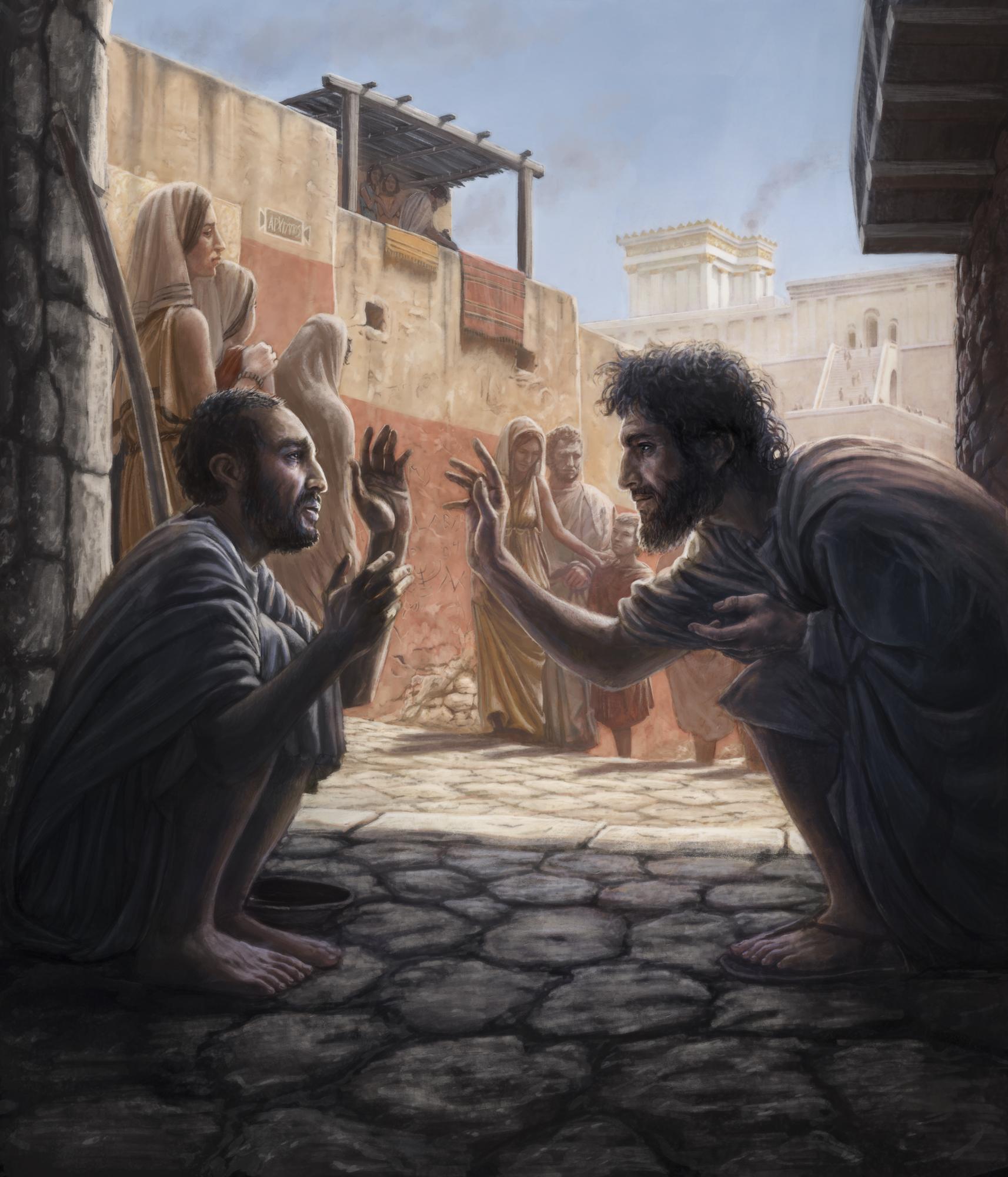 Jesus Healing the Blindman