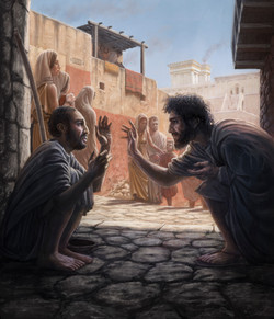 Jesus Healing the Blindman