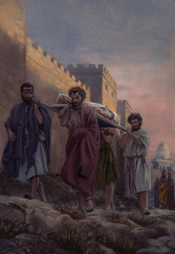 Carrying the Body of Jesus