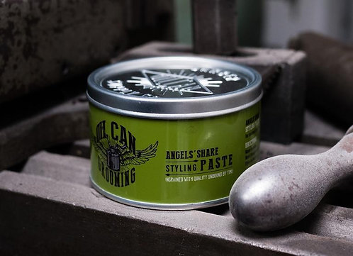 Oil Can Grease Tins - Styling Paste