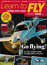 Cover of Flyer magazine Learn to Fly Guide 2019-2020
