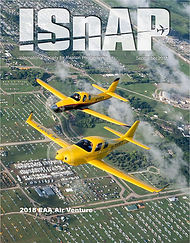 Cover of the magazine of the Internation Society for Aviation Photography September 2018