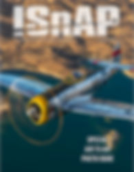 Cover of the International Society of Aviation Photorgaphy magazine August 2018