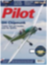 Cover of Pilot Magazine August 2016