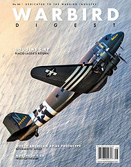 Cover of Warbird Digest magazine May June 2019