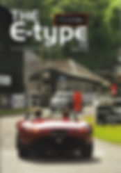 Cover of the Jaguar E-Type UK club magazine issue no 165