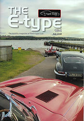 Cover of the Jaguar E-Type UK club magazine issue no 164