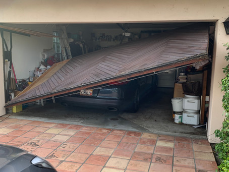 Falling Garage Doors
