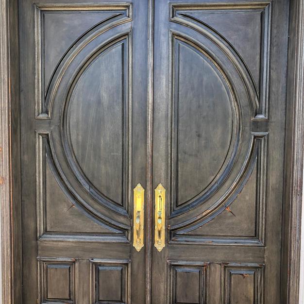 Front Door Replacement (Before)