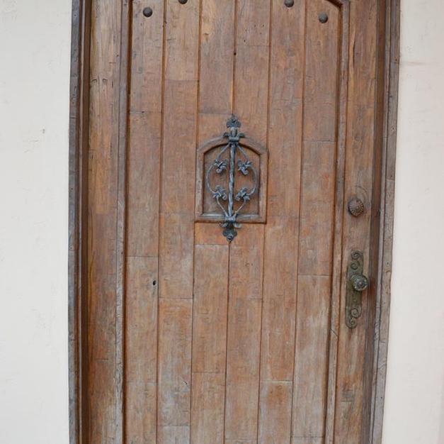 Front Door Staining (Before)