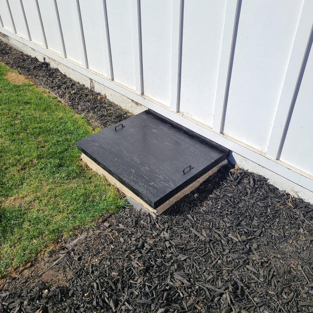 Crawl Space Access Cover (After)