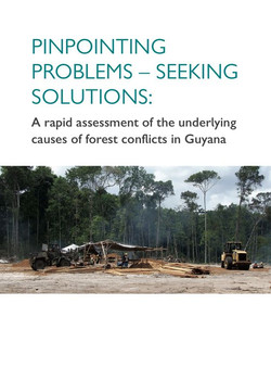 A rapid assessment of the underlying causes of forest conflicts in Guyana