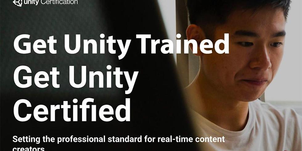 July 17, 18 & 19:Unity Cert. Exam Prep: Certified Associate