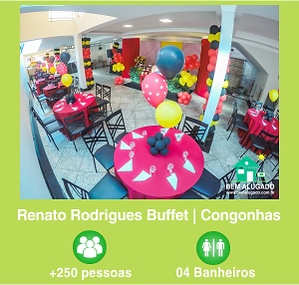 Janelinha Renato Rodrigues Buffet - Verd