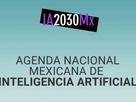 Es publicada la Agenda Nacional Mexicana de Inteligencia Artificial