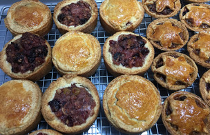 Mince Pies with Fermented Fruit