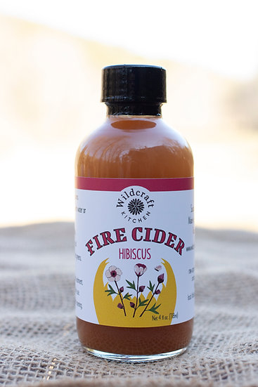 Hibiscus Fire Cider - 4oz.