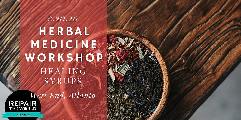 Herbal Medicine Workshop: Healing Honey Syrups