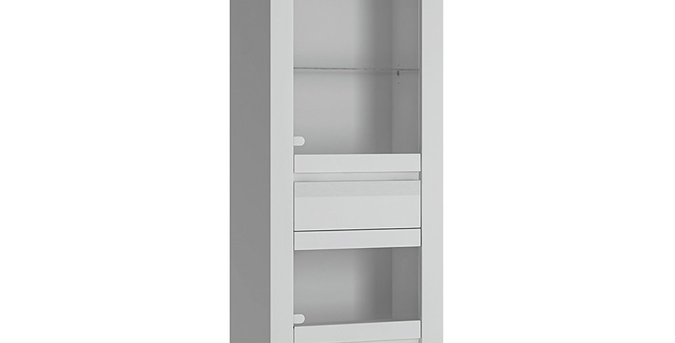 Novi Display Cabinet in Alpine White