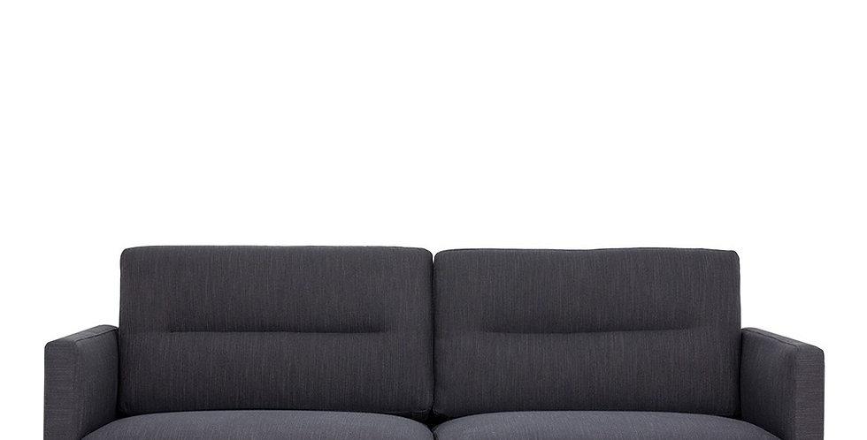 Larvik 2.5 Seater Sofa - Antracit, Oak Legs