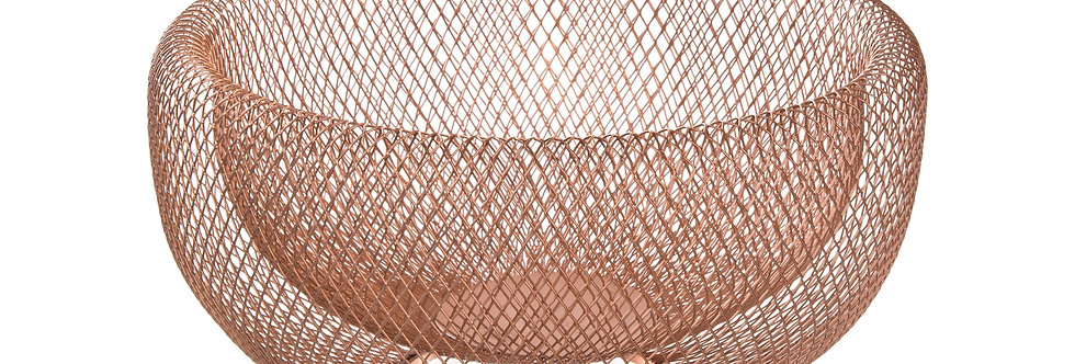 Rose Gold Decorative Fruit Bowl