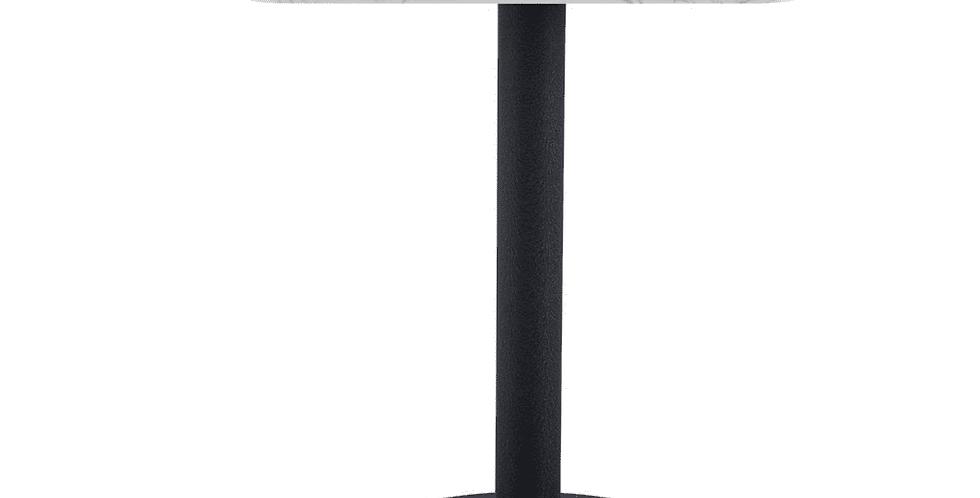 Square Pantheon Dining Table Black Leg 60cm