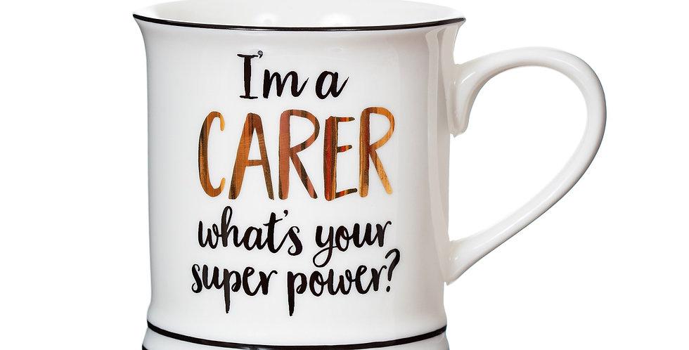 Carer Super Power Mug
