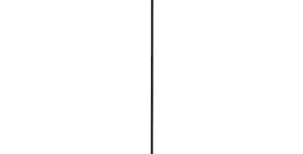 Black And Brass Industrial Five Bulb Bar Light