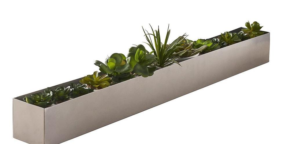 Long Centerpiece Table Plant Holder