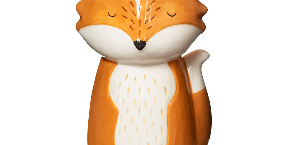 RUSTY FOX VASE