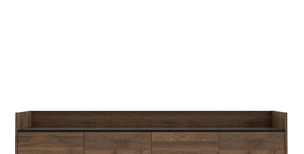 Elba Sideboard 2 Drawers 3 Doors in Walnut and Black