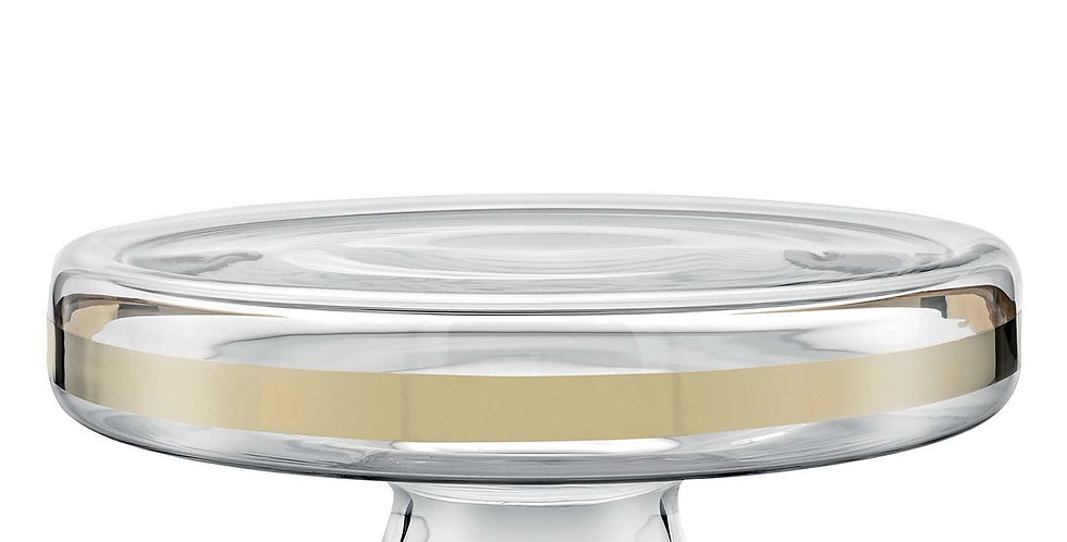 AVENUE GOLD CAKE STAND