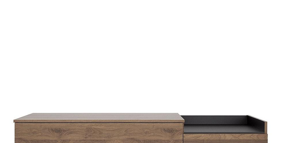 Elba Sideboard 2 Drawers in Walnut and Black