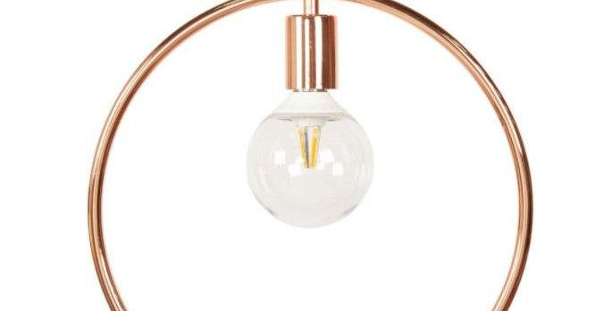 Circular Metal Pendant Light