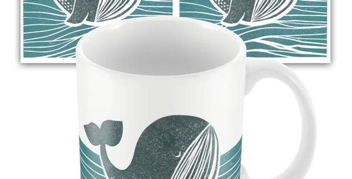 Whale of a Time mug