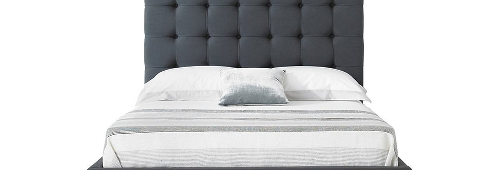 SICILY KING BED - GREY