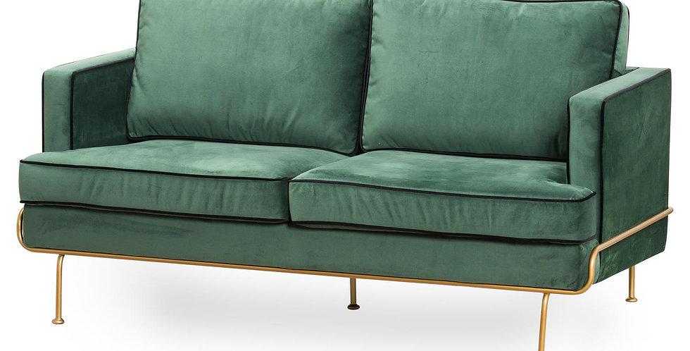 Arden Emerald Green Velvet 2 Seater Sofa