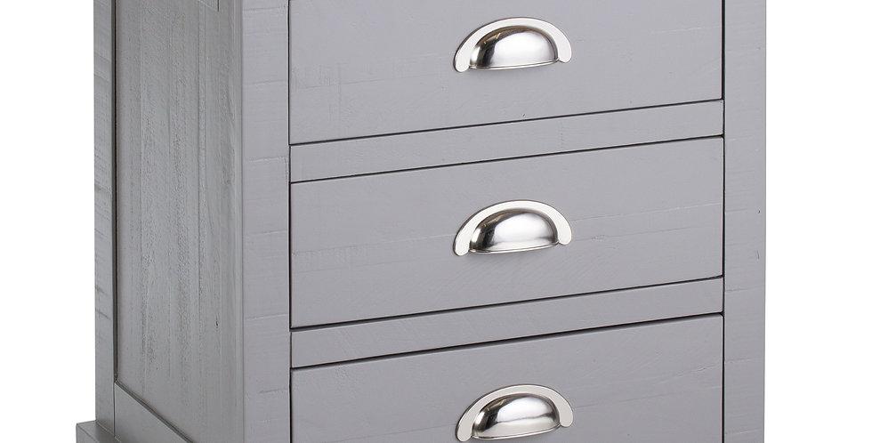 The Byland Collection 3 Drawer Bedside