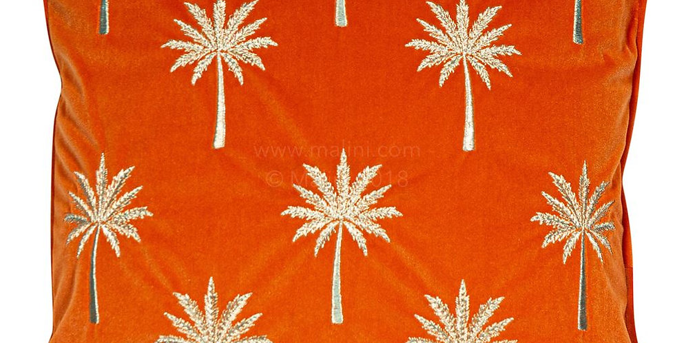 MIAMI ORANGE CUSHION