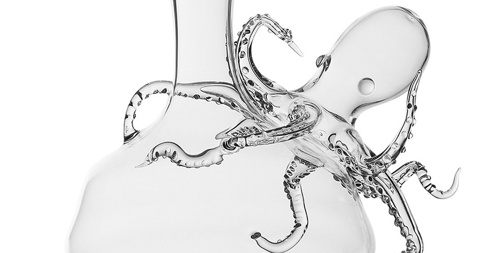 TENTACLES GLASS DECANTER