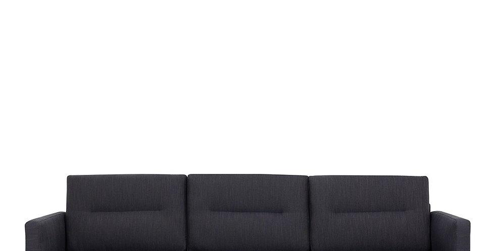Larvik 3 Seater Sofa - Antracit, Oak Legs