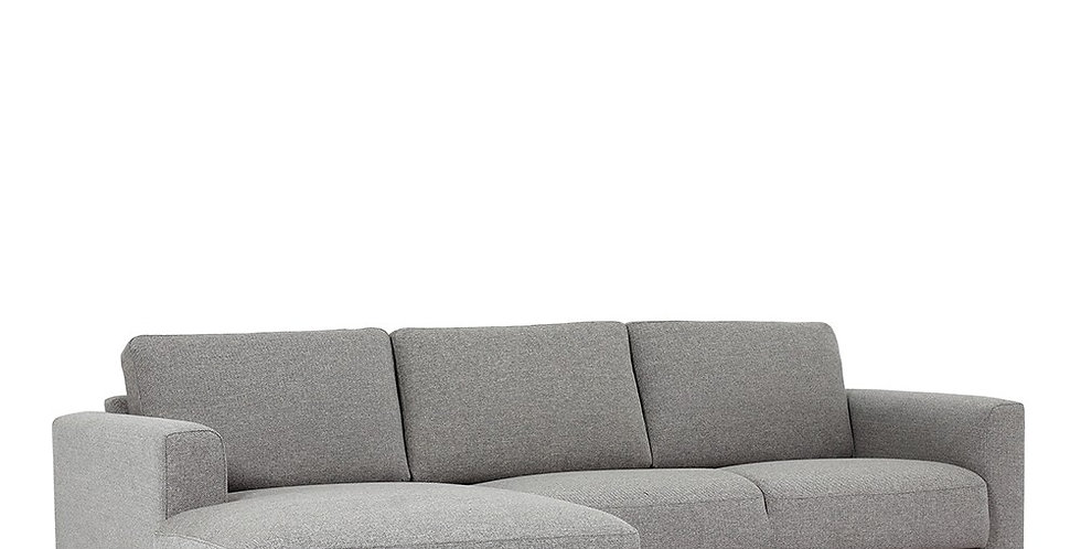 Cleveland Chaiselongue Sofa (LH) in Nova Light Grey